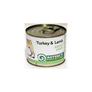 Nature's Protection Dog konzerva Light Krůta/jehně 200 g