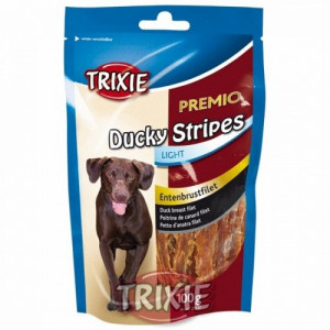 Trixie Premio DUCKY STRIPES light kachní maso 100 g TR