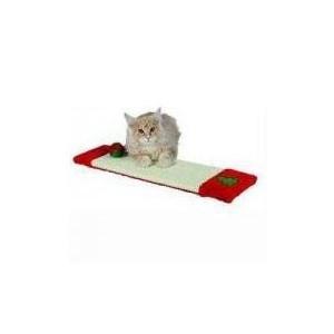 Vánoční Škrábadlo rohožka pro kočku 15x62 cm