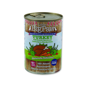 Konzerva LITTLE BIGPAW Dog krůta 390g