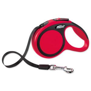 Vodítko FLEXI Comfort New páska červené XS - 3 m 1ks