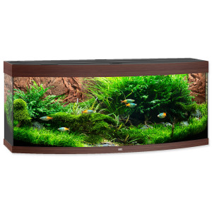 Akvárium set JUWEL Vision LED 450 tmavě hnědé 450l