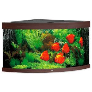 Akvárium set JUWEL Trigon LED 350 tmavě hnědé 350l