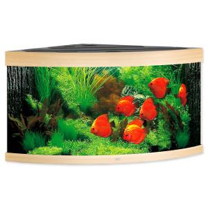Akvárium set JUWEL Trigon LED 350 světle hnědé 350l