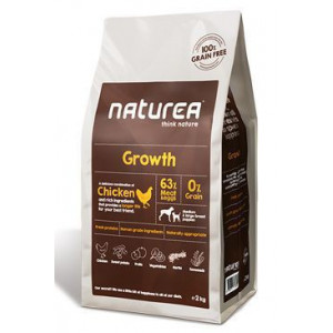 Naturea GF dog Growth - Puppy all breeds 2 kg