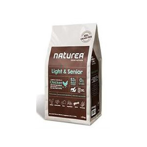 Naturea GF dog Light&Senior- all breeds 2 kg