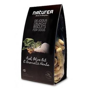 Naturea GF sušenky - ryby, olivový olej, bylinky 230 g