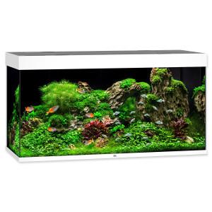 Akvárium set JUWEL Rio LED 350 bílé 350l