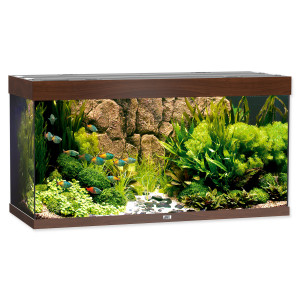 Akvárium set JUWEL Rio LED 350 tmavě hnědé 350l