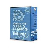 Naturea GF dog vlhké Chicken, Tuna, Salmon 375 g