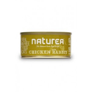 Naturea GF cat vlhké Chicken, Rabbit 80 g