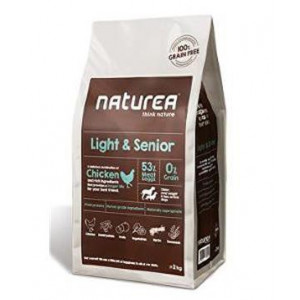 Naturea GF dog Light&Senior all breeds 12 kg