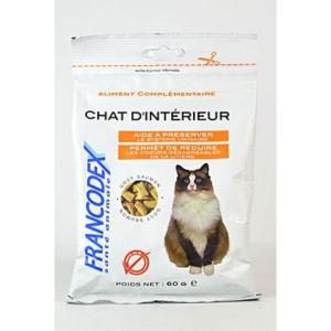 Francodex Pochoutka Indoor kočka 60 g