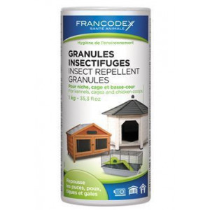 Francodex Granule repelentní in+out 1 kg