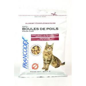 Francodex Pochoutka Hairball kočka 60 g