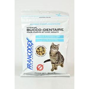 Francodex Pochoutka Breath Dental kočka 60 g