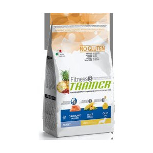 Trainer Fitness Adult Mini No Gluten Salmon Maize 7,5 kg