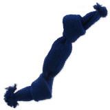 Uzel DOG FANTASY modrý pískací 2 knoty 35 cm 1ks