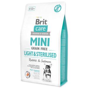 BRIT Care Mini Grain Free Light & Sterilised 1kg