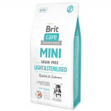BRIT Care Dog Mini Grain Free Light & Sterilised 7kg