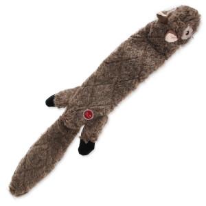 Hračka DOG FANTASY Skinneeez eXtreme veverka 57,5 cm 1ks