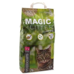 Kočkolit MAGIC CAT Litter Woodchips 10l 2,5kg