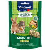 Pochoutka VITAKRAFT Emotion crispy balls herbal 80g