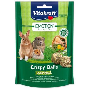 Pochoutka VITAKRAFT Emotion crispy balls herbal 80g