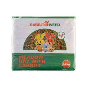 Seno luční RabbitWeed 0,6 kg