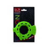 Hračka DOG FANTASY silikonový kroužek světle zelený 10 cm 1ks