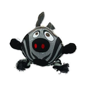 Hračka DOG FANTASY textilní zebra 28 cm 1ks