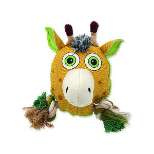 Hračka DOG FANTASY textilní jelen 20 cm 1ks