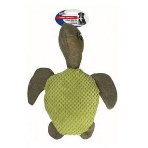 Hračka pes Želva TOMMY pískací plyšová 30 cm