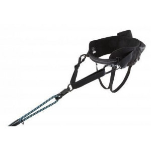 Pás Hurtta Hiker Belt 75-120 cm černý