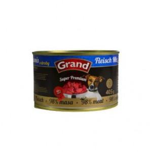 GRAND konzerva Superpremium pes směs droby 405 g