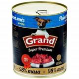 GRAND konzoerva  Superpremium pes směs droby 850 g