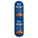 Salám BRIT Premium Dog Sausage Sport – Beef & Fish