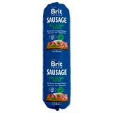 Salám BRIT Premium Dog Sausage Turkey & Peas 800g