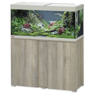 Akvárium set se stolkem EHEIM Vivaline LED dub šedé 180l