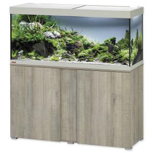 Akvárium set se stolkem EHEIM Vivaline LED dub šedé 240l