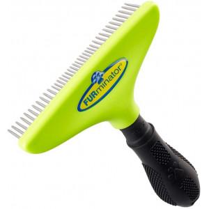 FURminator hrablo s kovovými otočnými zuby pro psy 1ks