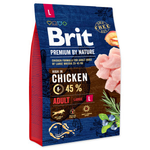 BRIT Premium by Nature Adult L 3kg