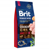 BRIT Premium by Nature Adult L 15kg