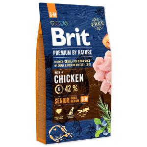 BRIT Premium by Nature Senior S+M 8kg