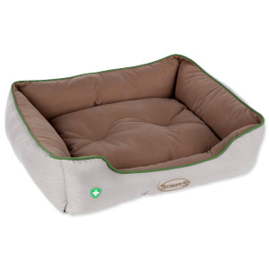 Pelech SCRUFFS Insect Shield Box Bed hnědý 60 x 50 cm 1ks