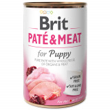 Konzerva BRIT Paté & Meat Puppy