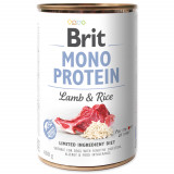 Konzerva BRIT Mono Protein Lamb & Brown Rice