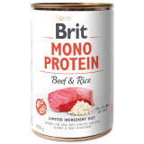 Konzerva BRIT Mono Protein Beef & Brown Rice 400g