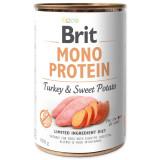 Konzerva BRIT Mono Protein Turkey & Sweet Potato