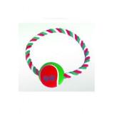 Hračka Pes Bavlna Kruh s Tenisákem 18 cm 1ks  Lill